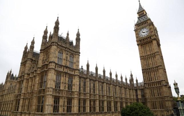 LONDAN, UNITED KINGDOM - SEPTEMBER 26: British Parliament is seen as parliament members debate on the United Kingdom  joining air strikes against ISIL in Iraq in Londan, United Kingdom on September 26, 2014. (Photo by Yunus Kaymaz / Anadolu Agency / Getty Images)