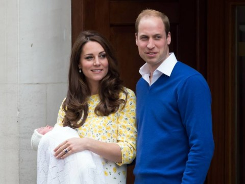 Celebs congratulate Kate and William on their new little princess