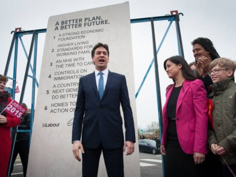 Ed Miliband promises to install huge rock slab in Downing Street garden