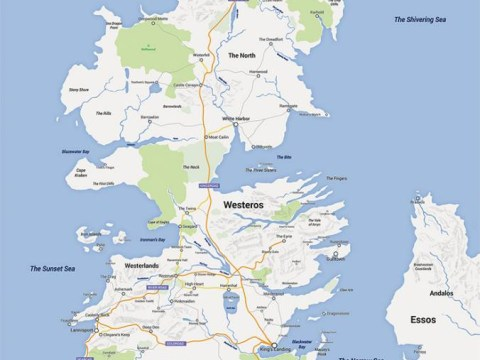 Someone has made a Google Maps version of Westeros and it's simply awesome