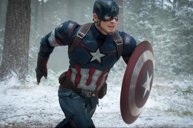 Film: Avengers: Age of Ultron (2015) starring Chris Evans as Captain America. capatin america.jpg