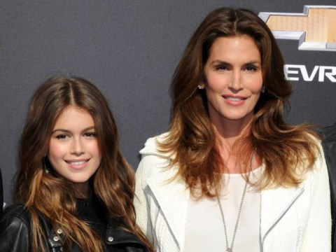Cindy Crawford's daughter looks EXACTLY like a young Cindy Crawford