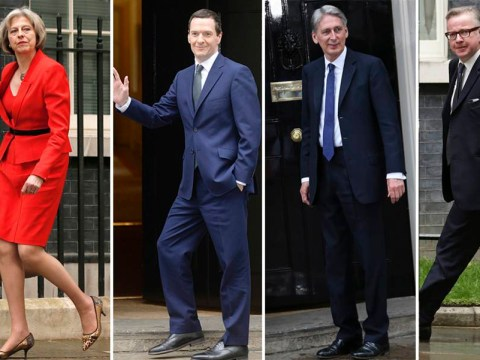 Who's who in the new cabinet – They're all Tories this time folks