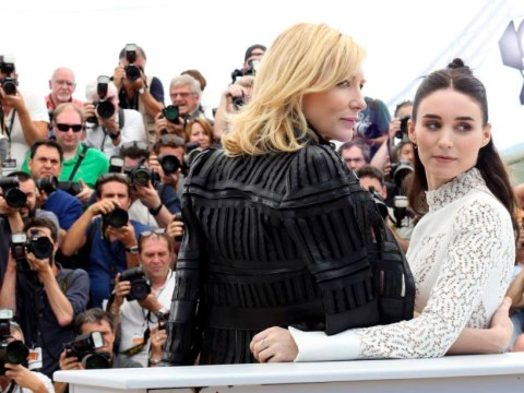 Cate Blanchett denies having sexual relations with women as her lesbian drama wows at Cannes