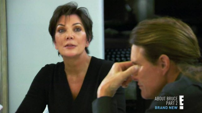 Kris Jenner and Bruce Jenner - Keeping Up With The Kardashians
