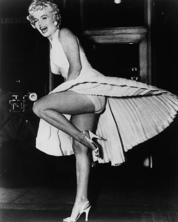 It's official! Marilyn Monroe has the most iconic legs in history