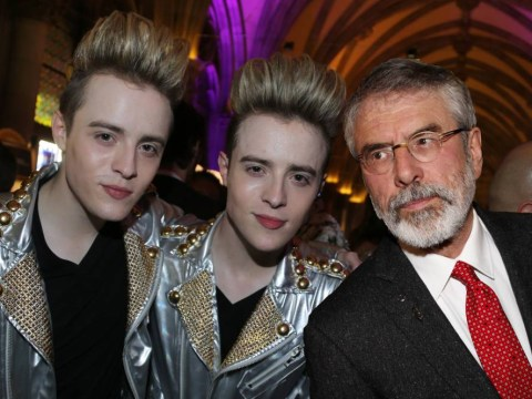 Who said it: Gerry Adams or Jedward?