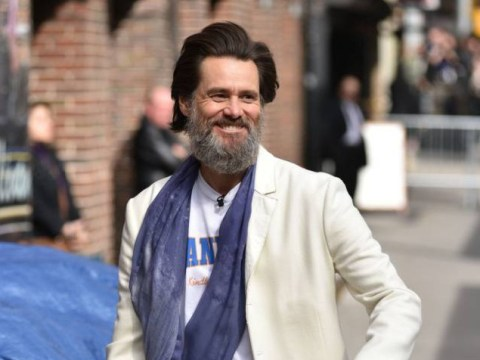 Jim Carrey debuts hipster new look – and that beard is still going strong!