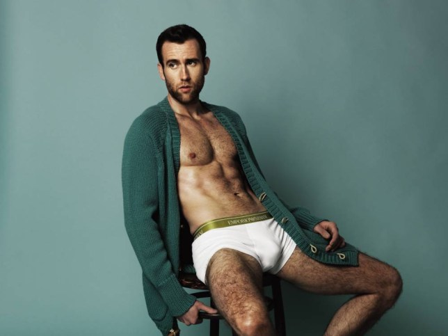 Matthew Lewis - as seen in Attitude magazine Credit: Attitude