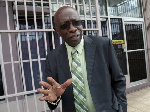 Ex-Fifa vice president Jack Warner hands himself in to police