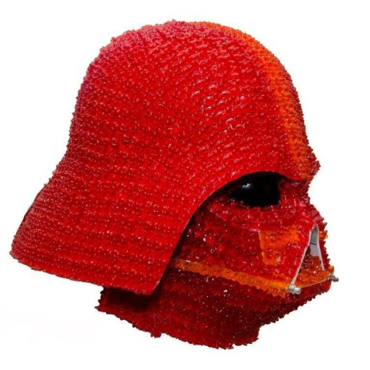 A Man Has Created Darth Vader S Helmet Using Over 1 000
