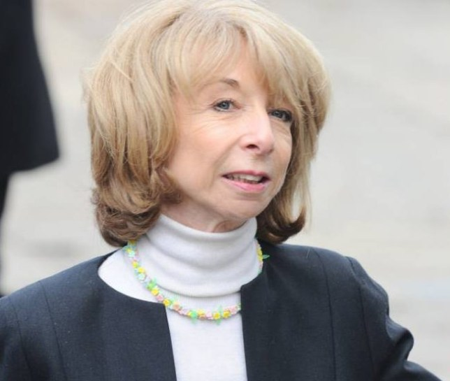 Mandatory Credit: Photo by REX Shutterstock . Helen Worth Anne Kirkbride Memorial Service, Manchester Cathedral, Britain - 30 May 2015