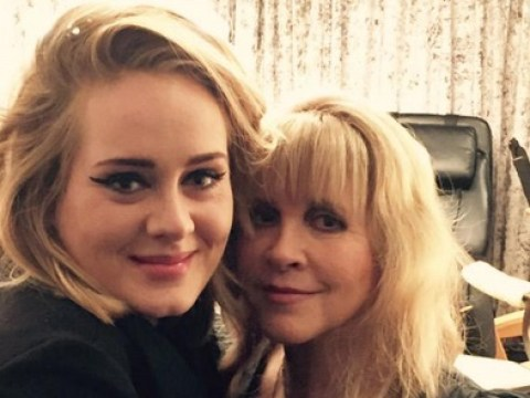 Adele and Stevie Nicks had a major bonding session at the Fleetwood Mac concert