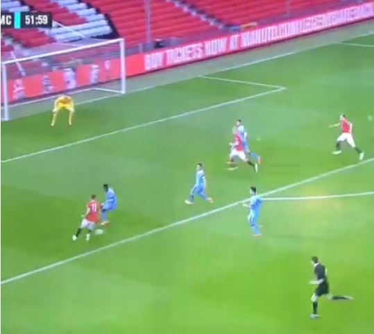 Adnan Januzaj shows his quality with goal and class assist for Manchester United U21s against Manchester City