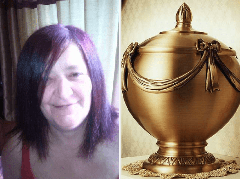 Party-goer snorts ashes of her host's mother