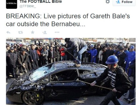 Real Madrid's Gareth Bale again fails to impress, people worry about his car's paintwork