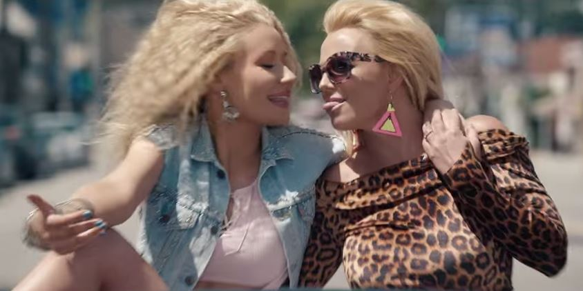 Stop everything – The video for Britney Spears and Iggy Azalea's Pretty Girls has arrived