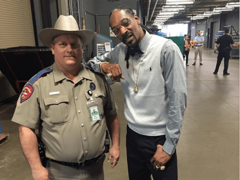Texas law enforcement don't think much of 'dope smoking cop hater' Snoop Dogg