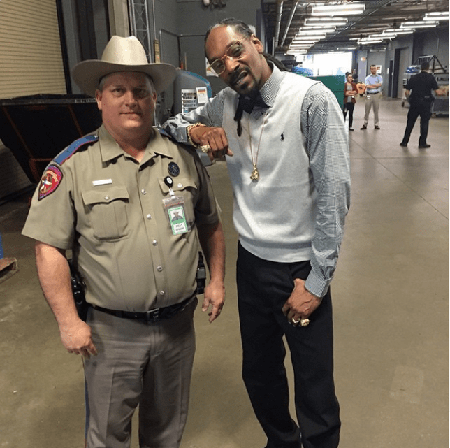 Snoop Dogg and his 'deputy dogg' Billy Spears at SXSW Festival