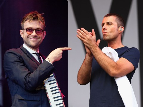 Liam Gallagher gave Blur props on Twitter so it seems the Britpop feud is over