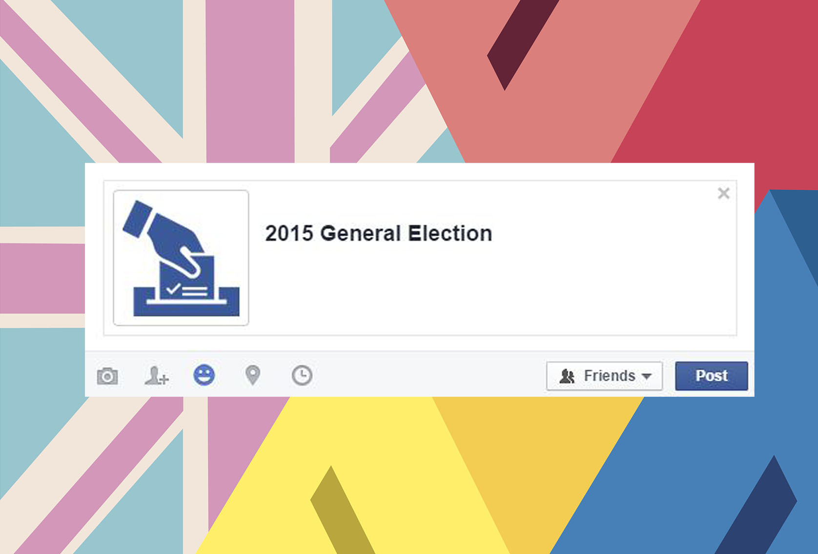 How much is Facebook's voting button annoying you right now