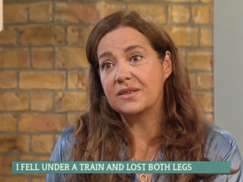 Diana Morgan-Hill says losing legs in train accident was nothing compared to rail firm SUING her afterwards
