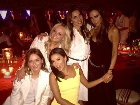 Spice Girls reunite at David Beckham's 40th birthday minus Scary Spice