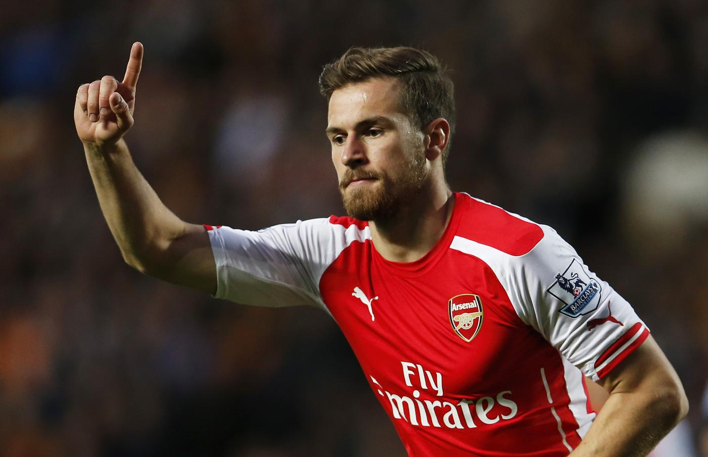 Aaron Ramsey got on the score-sheet against Hull City