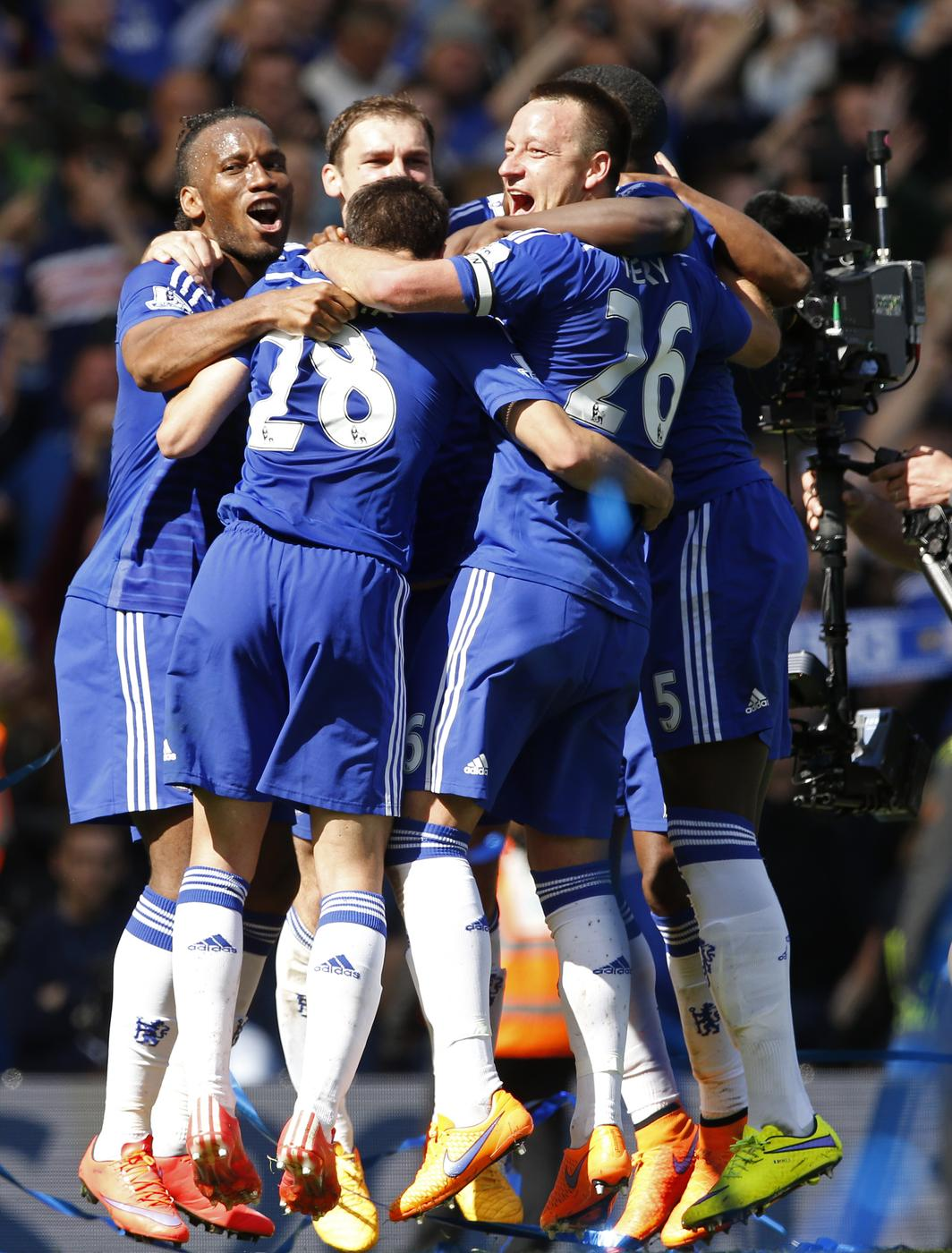 Europe next year! Chelsea wrap up Premier League and goal shifts to Champions League glory
