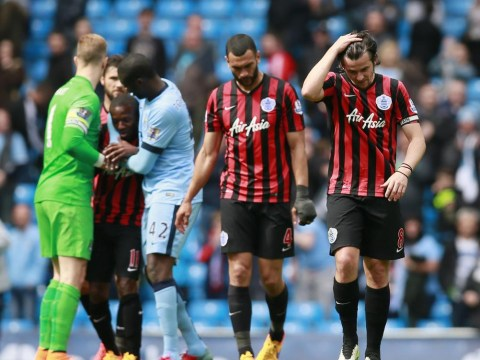 QPR deserve to go down after 'pub team defending' at Manchester City