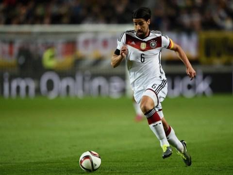 Arsenal 'face battle to land Real Madrid star Sami Khedira on a free transfer'