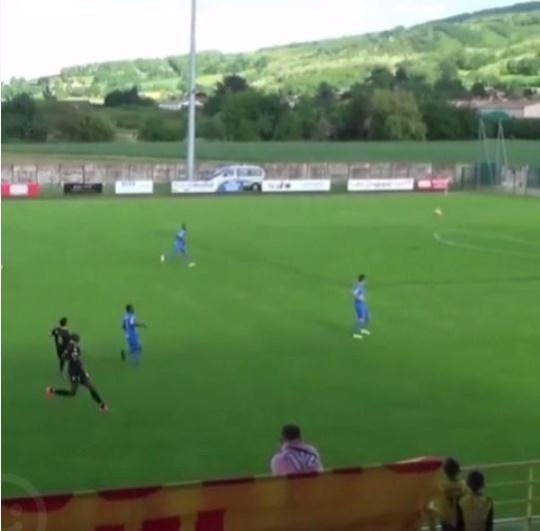 Ludovic Giuly scores superb goal