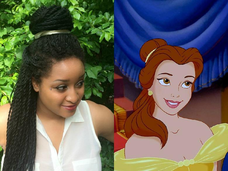 Us Student Recreates Disney Princess Hairstyles With Her Braids Metro News