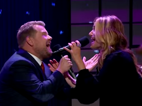 James Corden and Frozen singer Idina Menzel's Dirty Dancing duet will put a big smile on your face