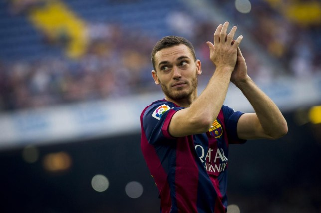 Thomas Vermaelen has not yet played a single minute for Barcelona