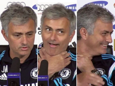Jose Mourinho jokes about strangling Manager of the Month panel after losing out to Leicester's Nigel Pearson