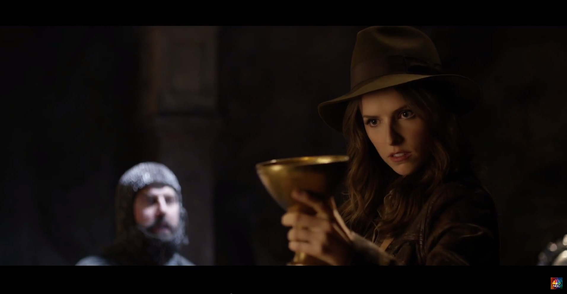 Anna Kendrick whips up a storm in hilarious Indiana Jones parody