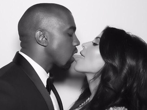 Kim Kardashian went a little overboard with her tributes to Kanye West on their wedding anniversary