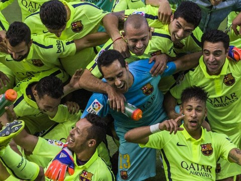 Champions! But is there a dark cloud hanging over Barcelona?