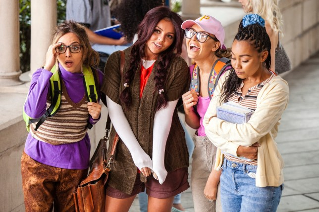 Little Mix are total geeks in their Black Magic music video