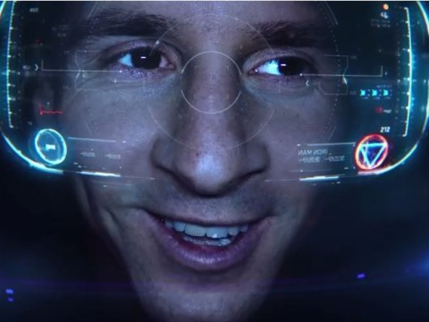 Barcelona star Lionel Messi becomes Iron Man in brilliant Avengers advert