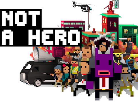 Not A Hero review – the thick of it