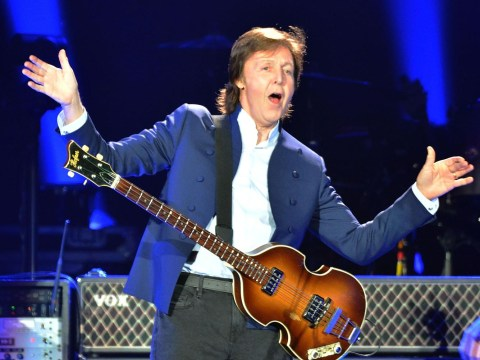 Paul McCartney reveals he gets a first class seat and a seatbelt for his guitar on planes