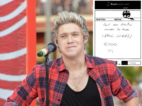 Bookie suspends bets on Niall Horan being next to quit One Direction after major gamble in his home county