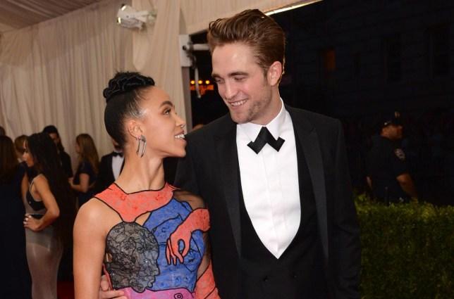 Robert Pattinson, FKA Twigs Evan Agostini/Invision/AP