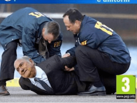 Fake FIFA 16 covers released featuring Sepp Blatter being arrested and in jail