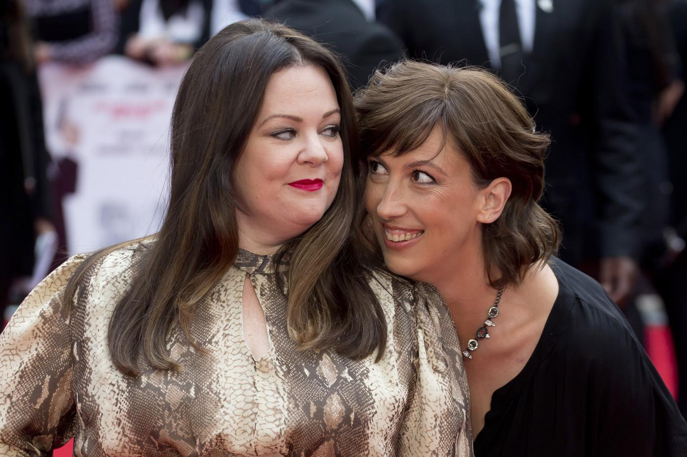 Melissa McCarthy talks working with the British and wanting Miranda Hart to live next door to her