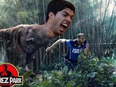 Twitter braces itself for Luis Suarez v Patrice Evra + Giorgio Chiellini as Juventus reach Champions League final