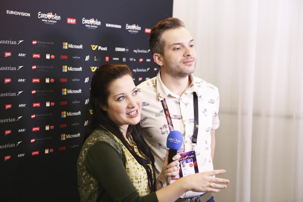 Eurovision: Electro Velvet's PR campaign is winning friends in Vienna