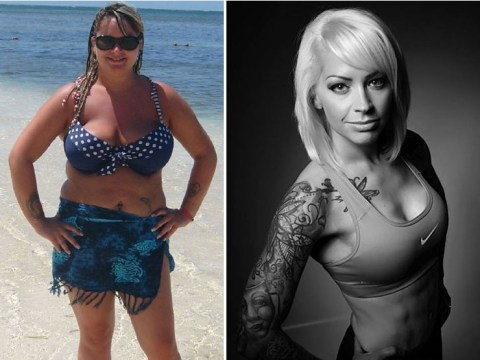 Woman who refused to be a 'fat bride' loses six stone; has killer abs for her big day
